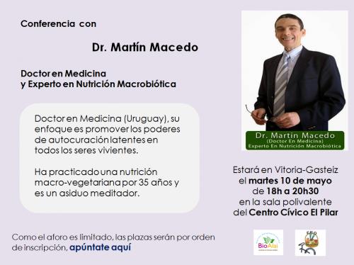 conferencia macrobiotica